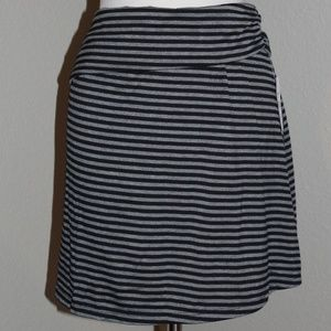 Bobbie Brooks Fold Over  Soft Knit Skirt Plus Size